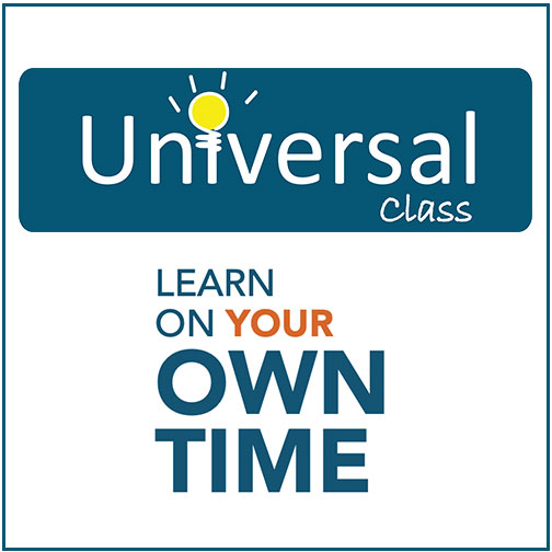 Universal Class offers over 500 courses are available on a variety of titles1980sMr