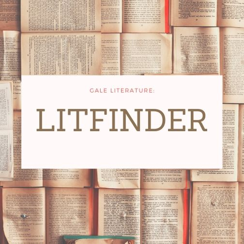 LitFinder from Gale